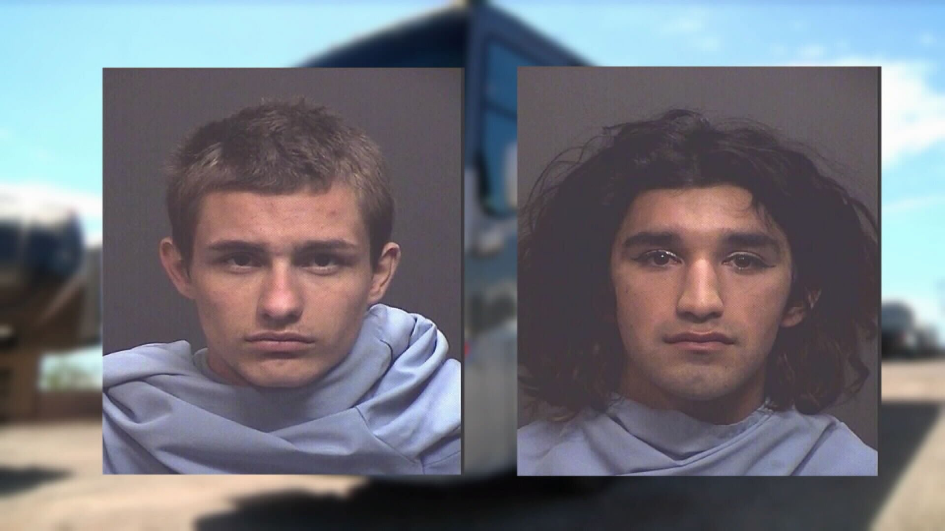 Suspects Gabriel Cunningham and Jesus Robles