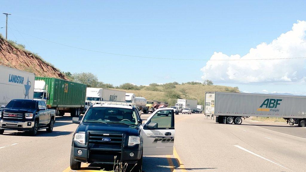 Spokesman: Driver shot at US-Mexico border still in hospital