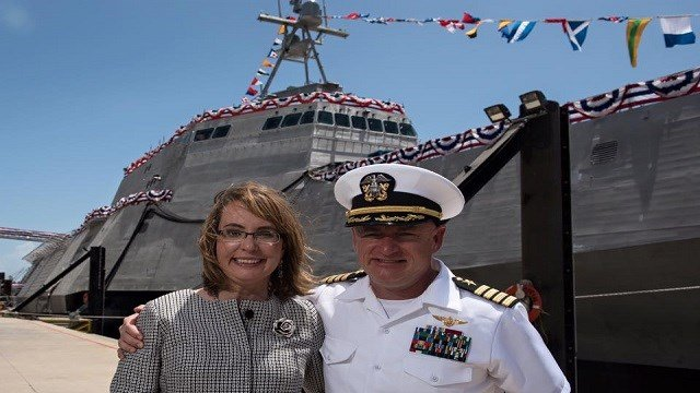 Navy Accepts Delivery of USS Gabrielle Giffords