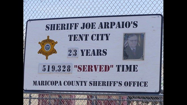 Arizona sheriff to shut down famed Tent City jails complex