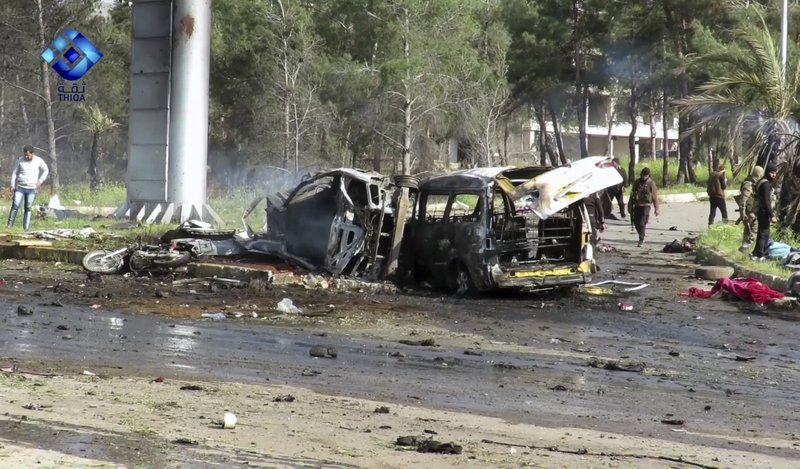 Syria War: Huge Bomb Kills Dozens Of Evacuees