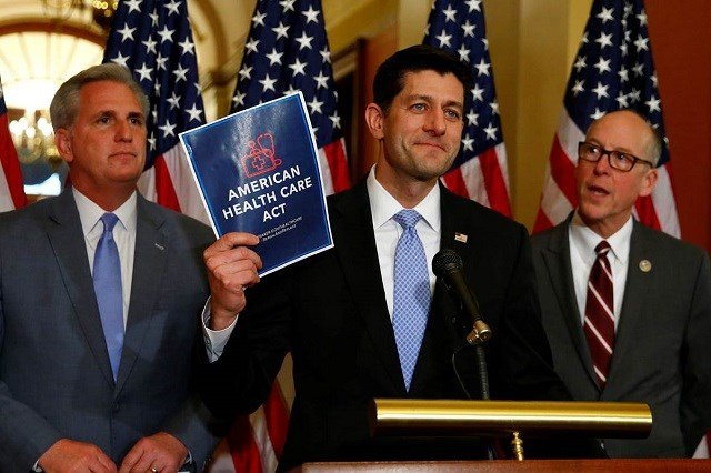 US House votes to repeal, replace Obamacare, Senate battle looms