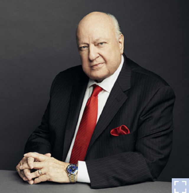 Then-Fox News Chairman and CEO Roger Ailes, photographed in Nov. 2015. (Wesley Mann/FOX News via Getty Images)
