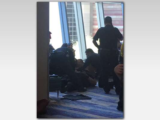 Armed man targeting police taken down at Phoenix Comicon