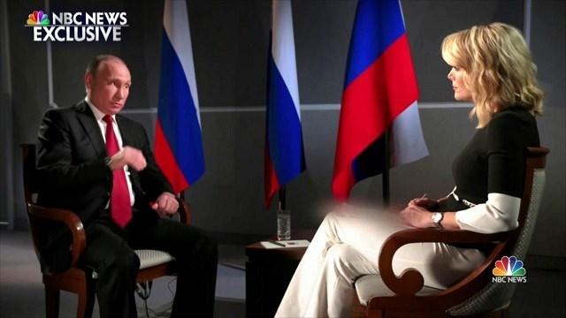 Putin scorns United States  claims over Trump-Russia ties