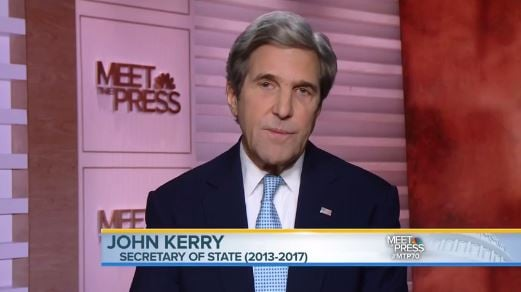 John Kerry Blasts Trump Over Paris Accord Exit