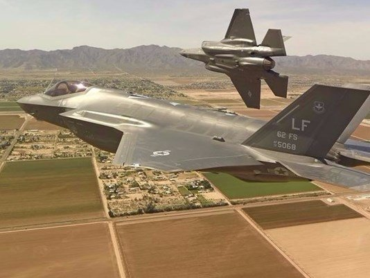 F-35 jets grounded indefinitely at US Air Force base in Arizona