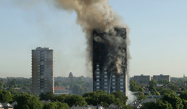 Six people confirmed dead in London Tower fire; twenty in critical care