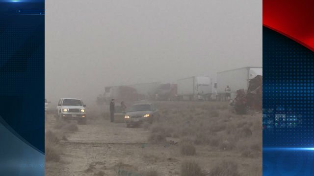 Six killed in I-10 pileup caused by dust in Arizona