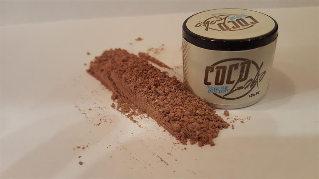 U.S. company makes snortable chocolate powder for drug-free intoxication