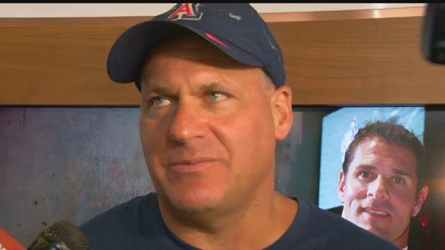 Arizona parts ways with head football coach Rich Rodriguez