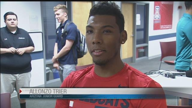 U of A players talk about excitement for basketball tour of Spai - KVOA