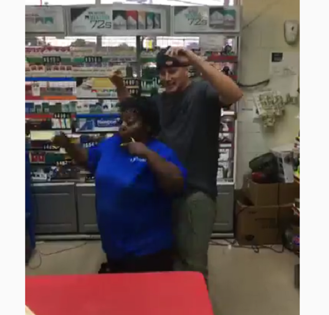 Channing Tatum stops by North Carolina Sunoco station, dances with clerk