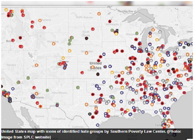 Illinois Home To 32 Hate Groups: Southern Poverty Law Center
