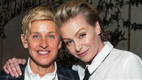 Ellen DeGeneres Shares Loving Message About Wife Portia For Their Wedding Anniversary