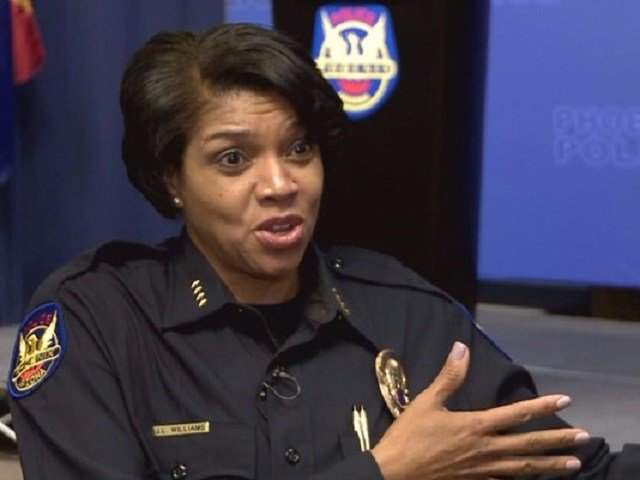Phoenix Police Chief Jeri Williams; 12 News photo