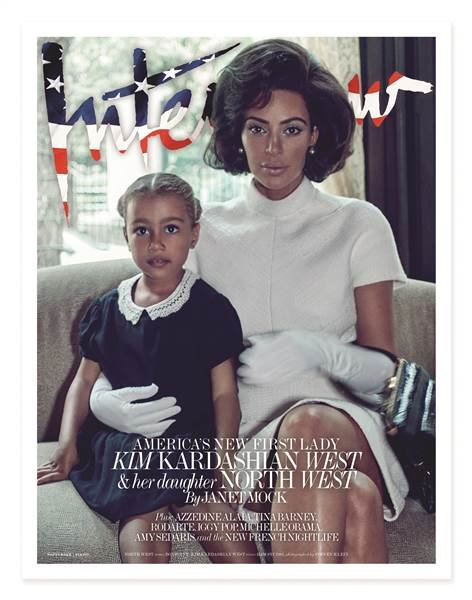 Kim Kardashian Gets Twitter Backlash Over Jackie O-Inspired 'Interview' Shoot