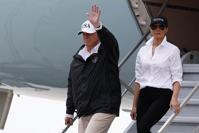 Pres. Trump traveling to Texas Tuesday to survey Hurricane Harvey damage