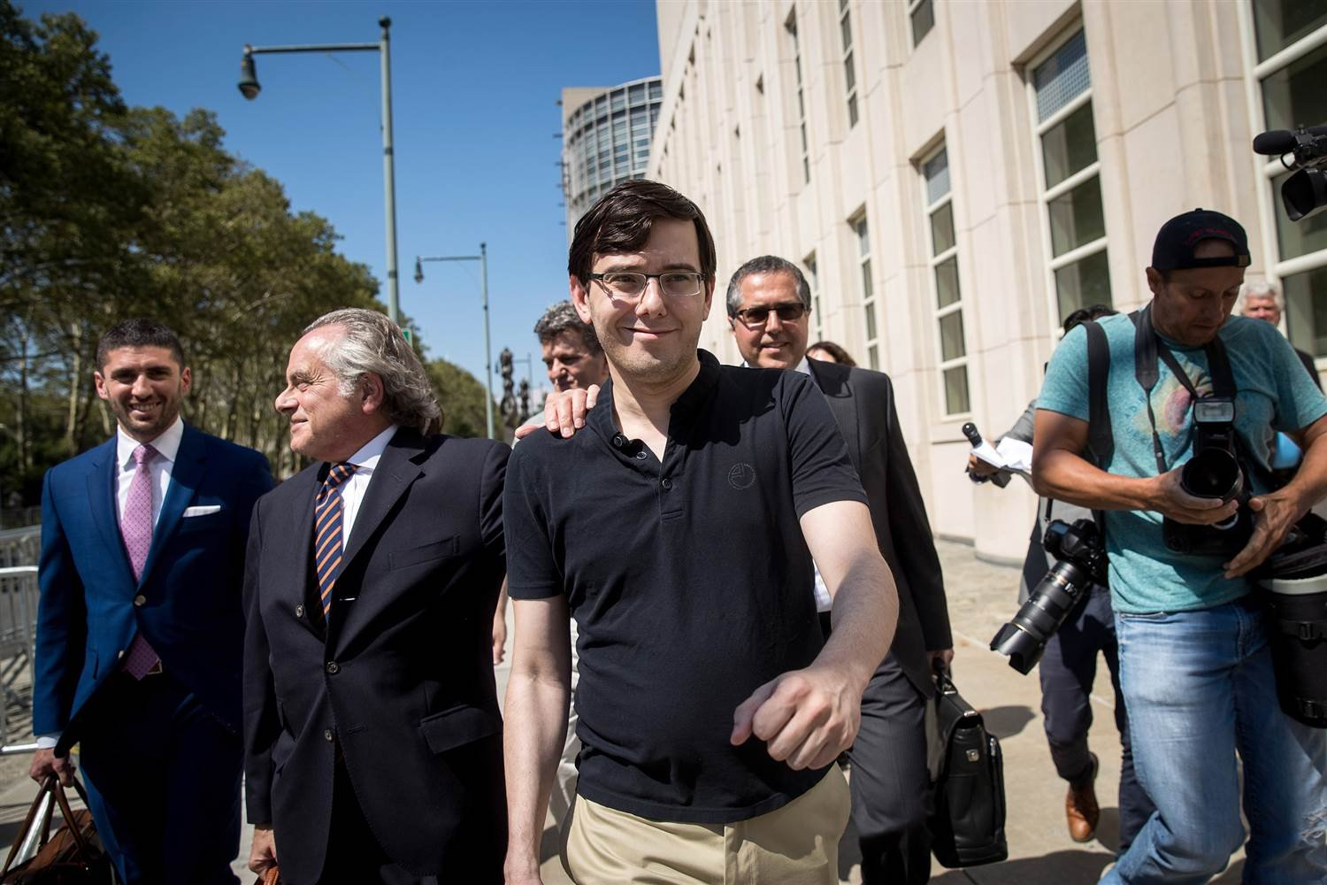 Prosecutors Seek to Revoke Shkreli's Bail, Citing Post About Clinton