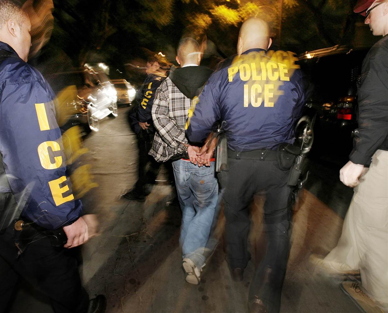 ICE halts raids due to hurricanes