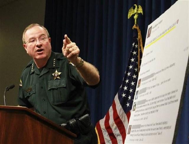 Polk County Sheriff Grady Judd in October 2013. Calvin Knight / The Ledger via AP file