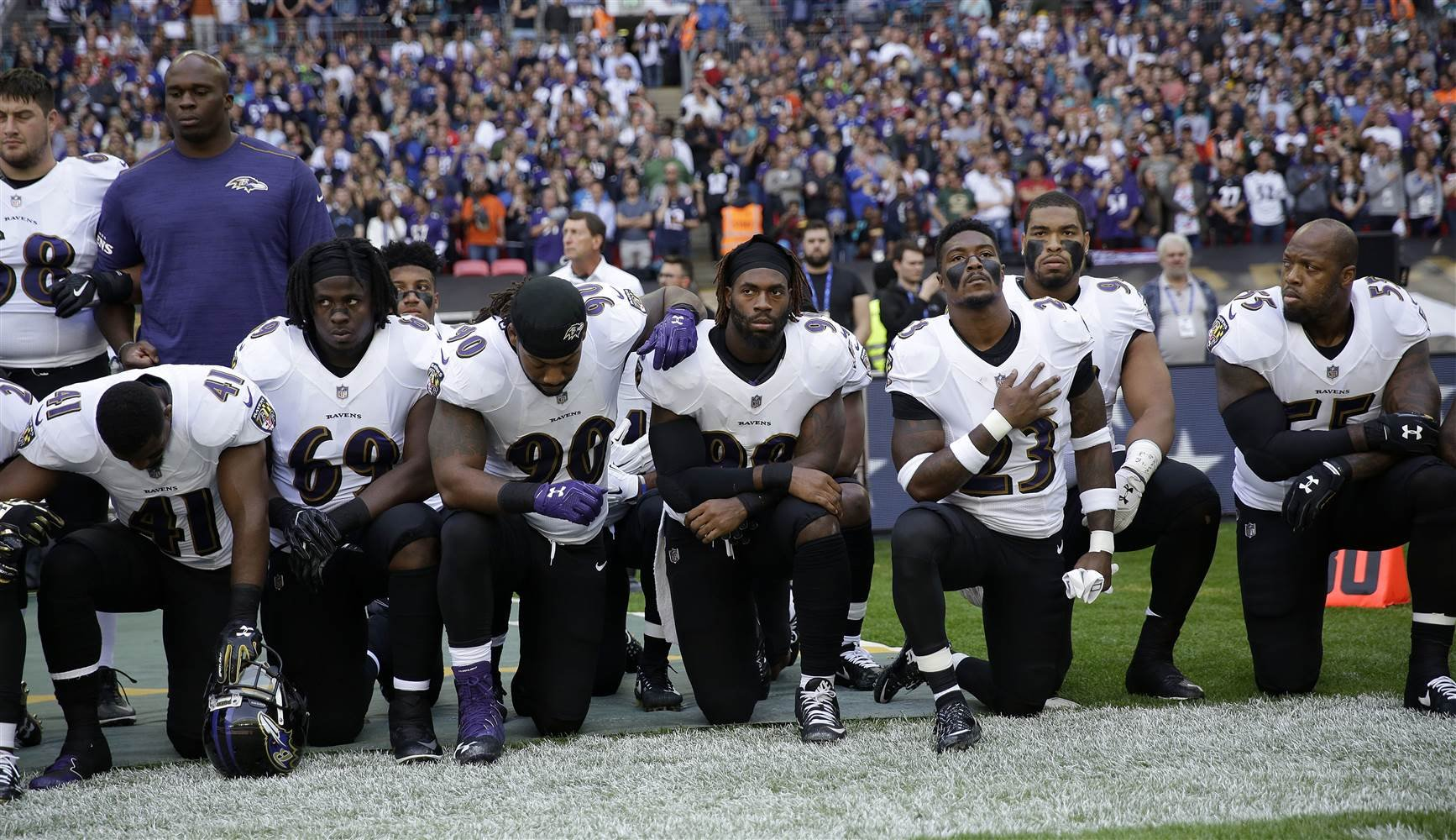 'I do not belong here': Ravens national anthem singer announces resignation