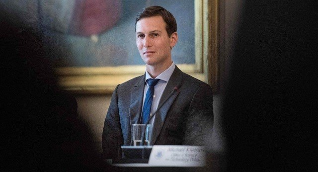Jared Kushner, son-in-law and senior adviser to President Donald Trump, at an American Leadership in Emerging Technology roundtable at the White House on June 22. Nicholas Kamm / AFP-Getty Images