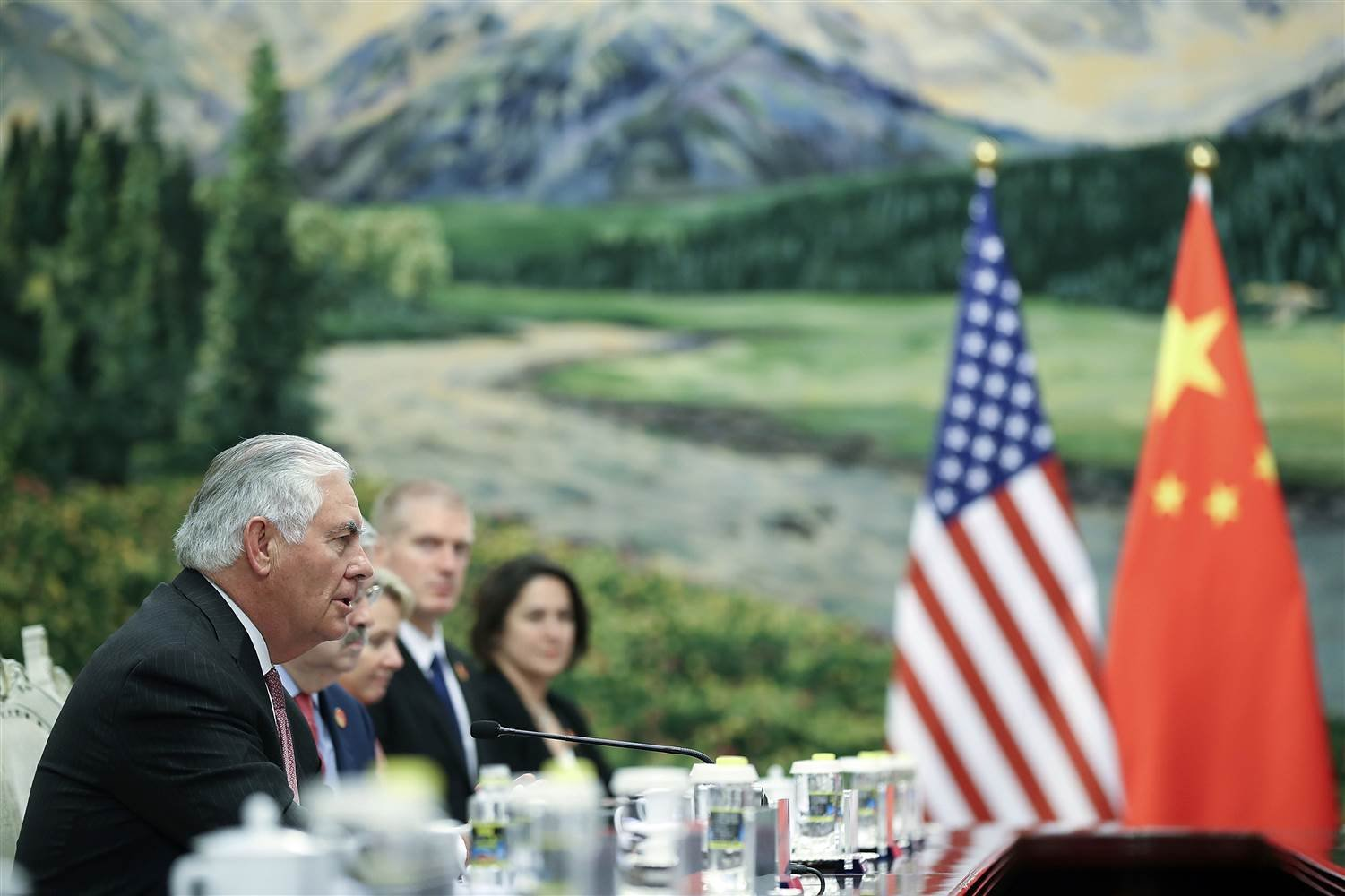 Tillerson's Talks in Beijing Focus on North Korea