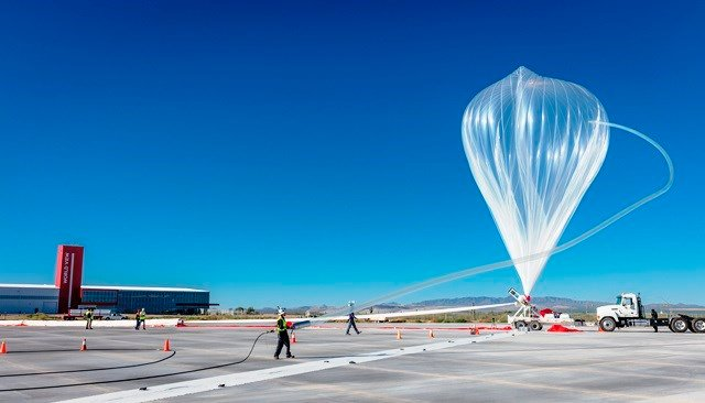 Courtesy of World View - Spaceport Tucson