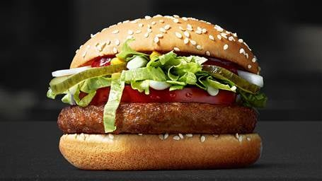 McDonald's Now Has An All-New Vegan Burger