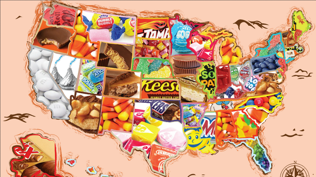 'Sour Patch Kids' top Illinois candy sale list