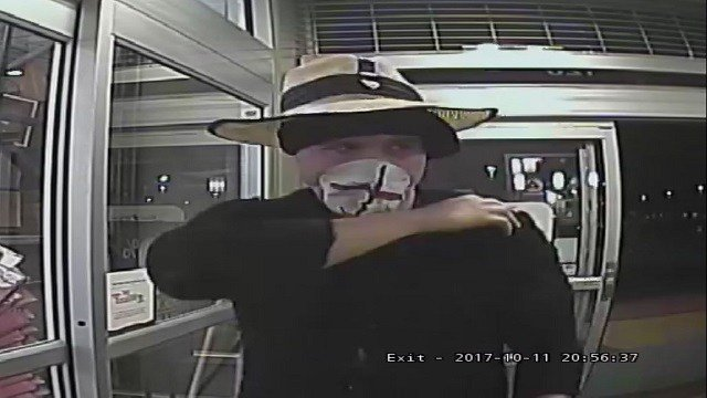 He's known as the 'Shaky Bandit' - and he robs lots of banks