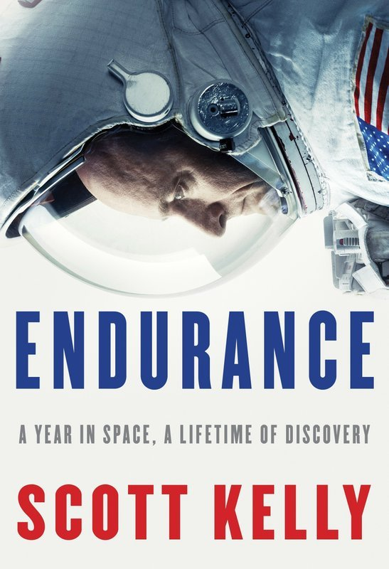 """This cover image released by Knopf shows """"Endurance: A Year in Space, A Lifetime of Discovery,"""" by retired astronaut Scott Kelly. (Knopf via AP)"""