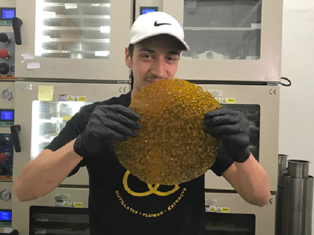 Sebastian Cardosa works at Encanto Green Dispensary (Photo: 12 News)