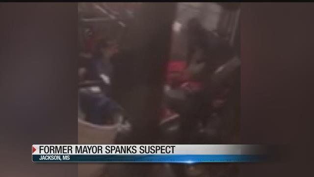 Former mayor paddles suspected thief