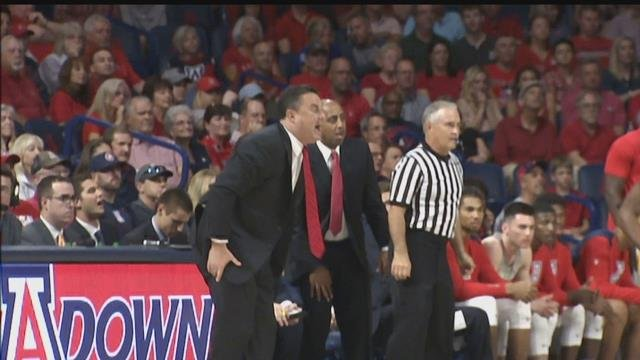 Arizona coach Sean Miller calls out team after poor effort in loss