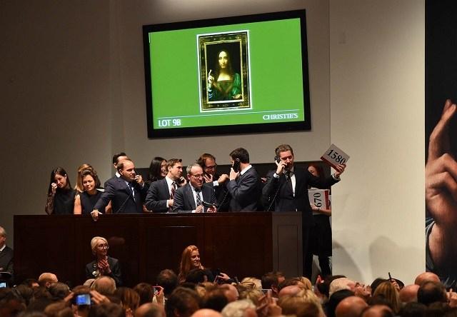 Leonardo da Vinci's portrait of Jesus sells for record $450 at auction