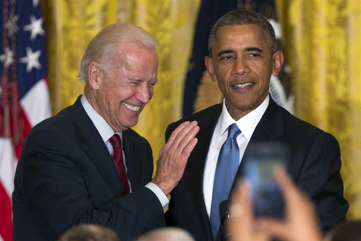The bromance between Obama and Biden is apparently still going strong