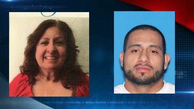Tucson police locate woman allegedly kidnapped by her son