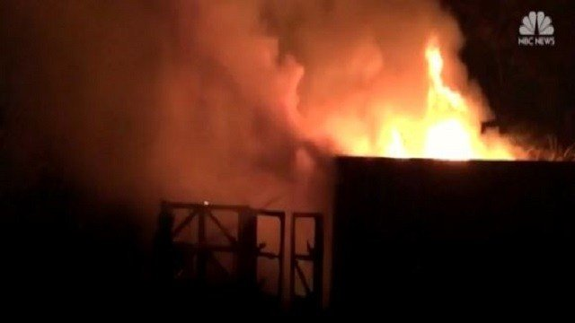 Fire hits London Zoo cafe; not clear if any animals hurt