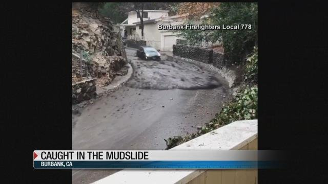 Man Whose Car Was Whisked Away By California Mudslide Recounts Terrifying Ordeal