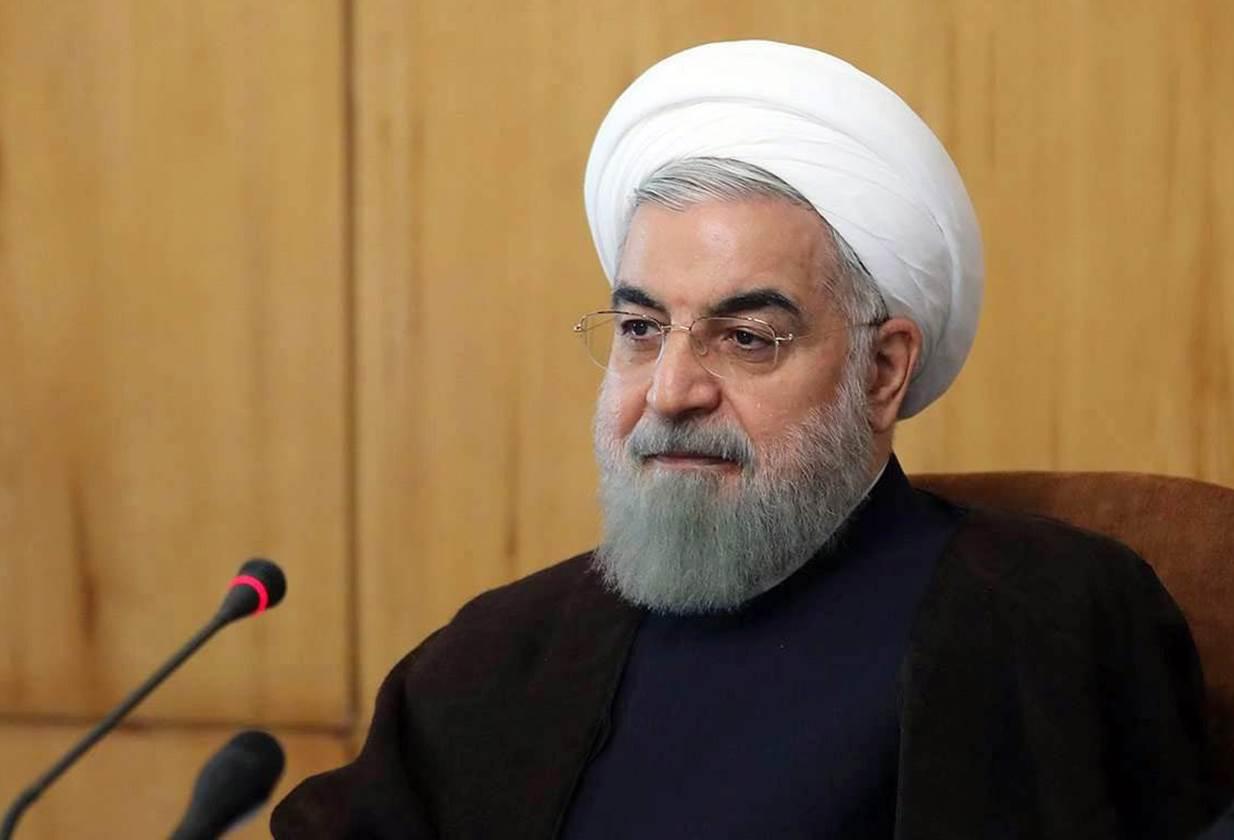 Iranian president Hassan Rouhani in Tehran, Iran, Nov. 9 2016. EPA