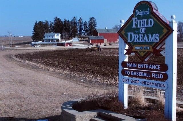 Vandals turn Field of Dreams into Field of Seams