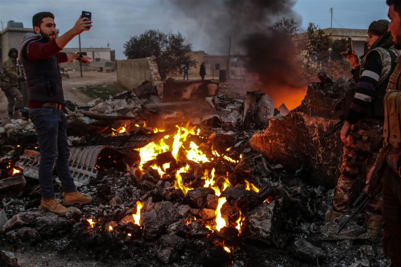 Russian warplane shot down by Syrian rebels