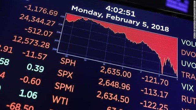 Asian shares fall after Wall Street plunge