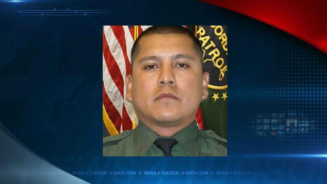 U.S. Customs and Border Protection agent Rogelio Martinez. USCBP