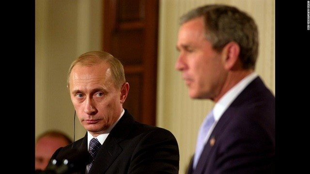 George W Bush tells Abu Dhabi summit: Russians meddled in U.S. elections
