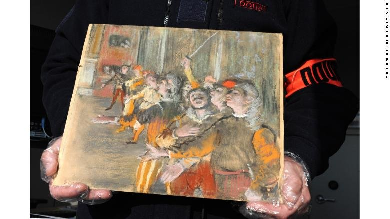 France confirms authenticity of stolen Degas painting found on bus