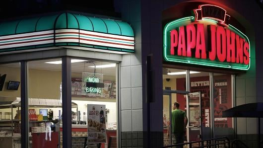Papa John's and National Football League split ways