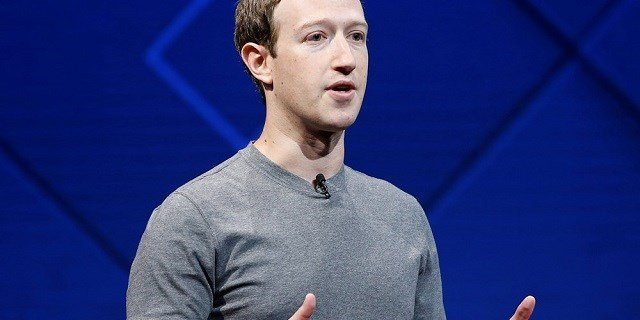Facebook Founder and CEO Mark Zuckerberg speaks at the annual Facebook developers conference in San Jose, California, in 2017.Stephen Lam / Reuters file